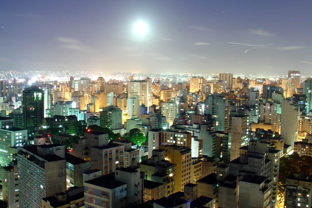 Бразильский город Сан-Паулу