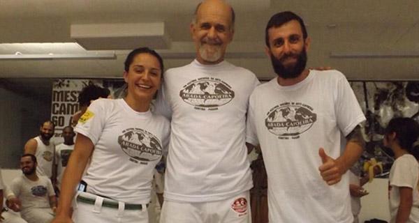 Abada capoeira mestre camisa