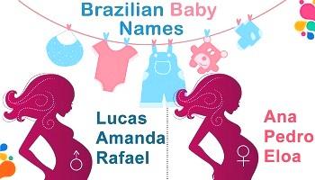 Бразильские мужские и женские имена