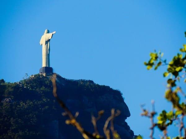 Статуя Иисуса Христа на горе Корковаду