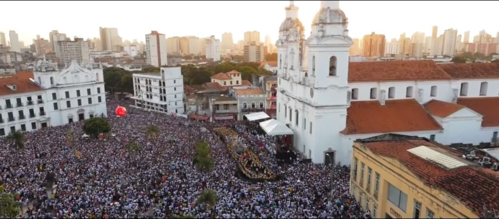 Город Белен в Бразилии