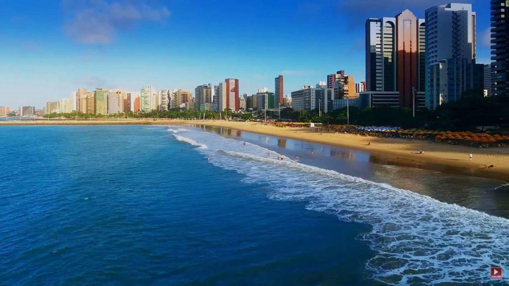 город Форталеза побережье