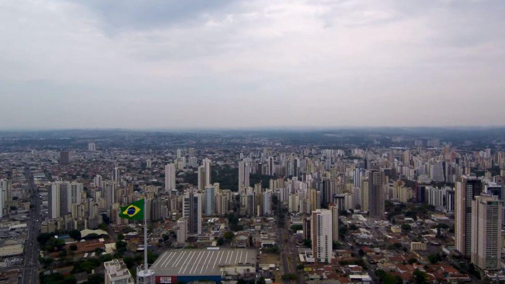 Город Гояния в Бразилии