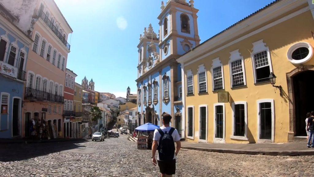 Город Бразилии Сальвадор