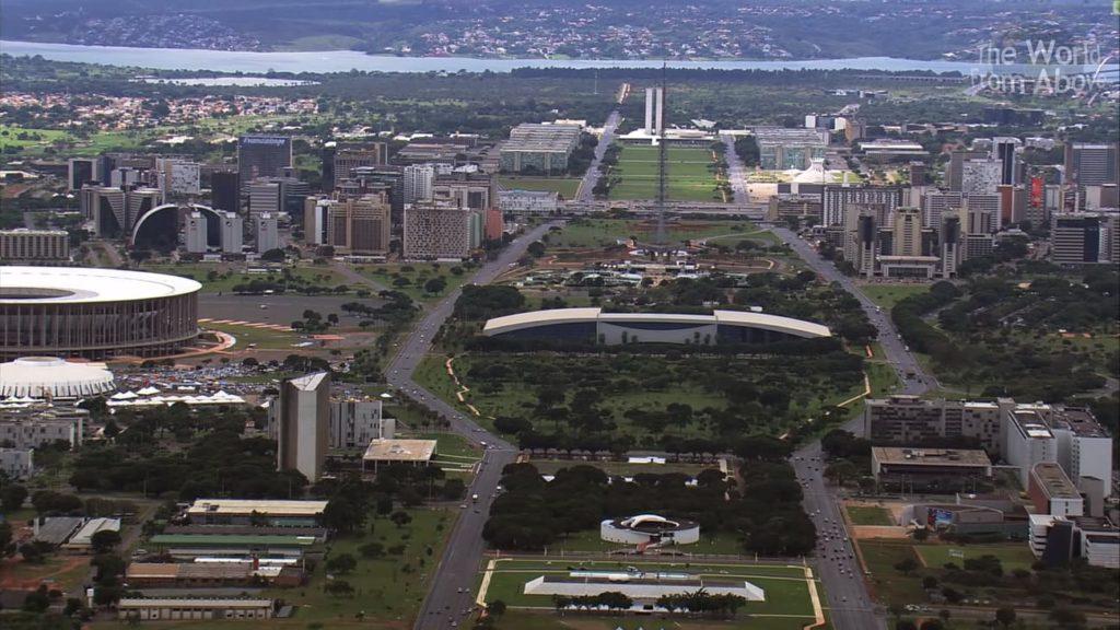 Города Бразилии - столица Бразилиа
