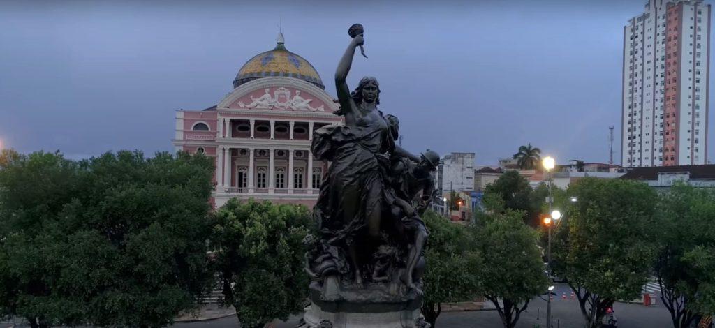 Город Манаус оперный театр Амазонс